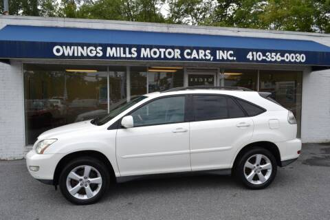 2006 Lexus RX 330 for sale at Owings Mills Motor Cars in Owings Mills MD