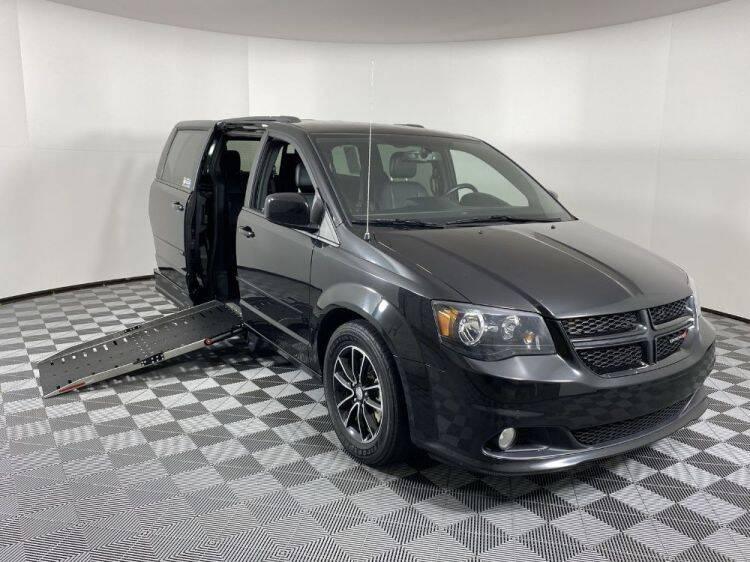2017 Dodge Grand Caravan for sale at AMS Vans in Tucker GA