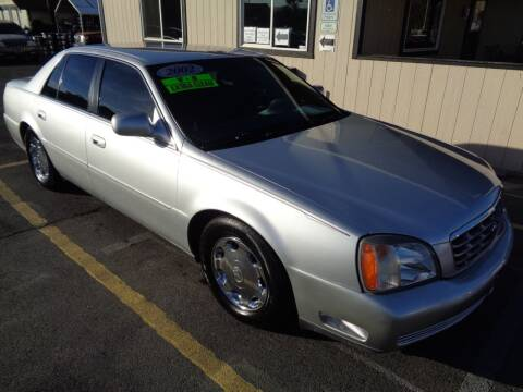 2002 Cadillac DeVille for sale at BBL Auto Sales in Yakima WA