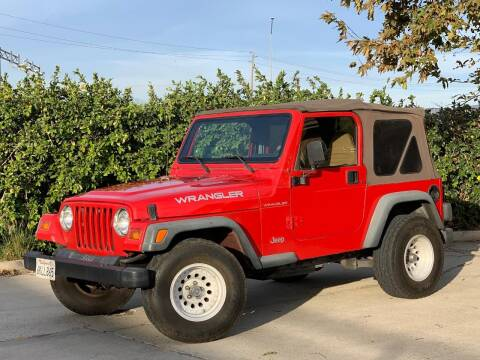 1997 Jeep Wrangler for sale at Auto Hub, Inc. in Anaheim CA