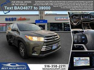 2018 Toyota Highlander for sale at Best Auto Outlet in Floral Park NY