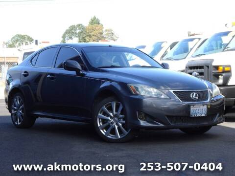 2006 Lexus IS 250 for sale at AK Motors in Tacoma WA