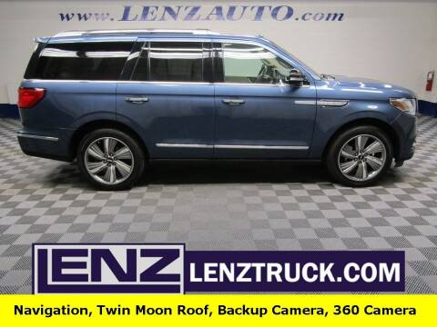 2018 Lincoln Navigator for sale at LENZ TRUCK CENTER in Fond Du Lac WI