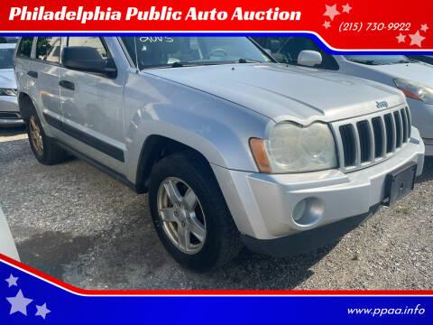 2005 Jeep Grand Cherokee for sale at Philadelphia Public Auto Auction in Philadelphia PA
