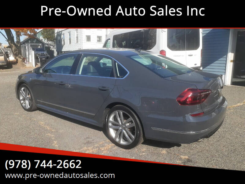 2017 Volkswagen Passat for sale at Pre-Owned Auto Sales Inc in Salem MA