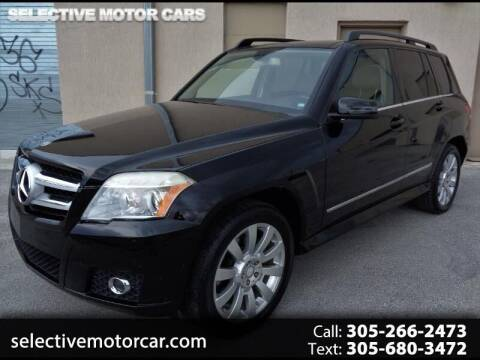 2010 Mercedes-Benz GLK for sale at Selective Motor Cars in Miami FL