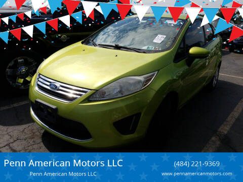 2011 Ford Fiesta for sale at Penn American Motors LLC in Allentown PA