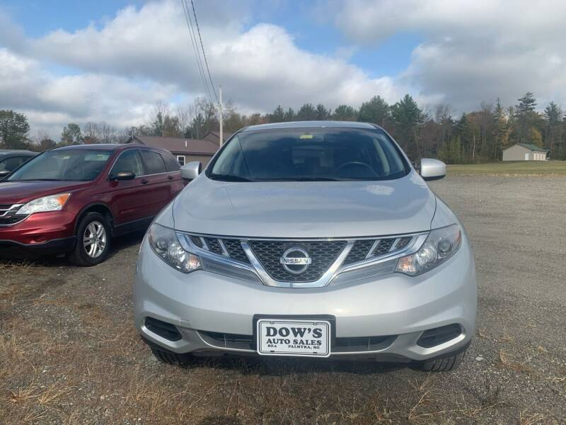 2014 Nissan Murano for sale at DOW'S AUTO SALES in Palmyra ME
