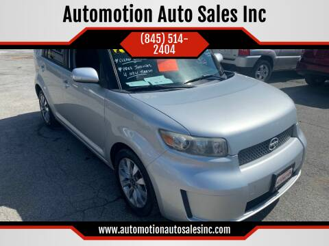 2008 Scion xB for sale at Automotion Auto Sales Inc in Kingston NY