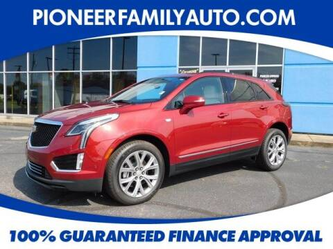 2020 Cadillac XT5 for sale at Pioneer Family Preowned Autos in Williamstown WV