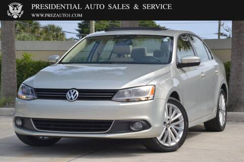 2011 Volkswagen Jetta for sale at Presidential Auto  Sales & Service in Delray Beach FL