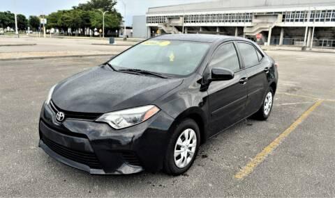 2016 Toyota Corolla for sale at Ven-Usa Autosales Inc in Miami FL