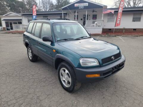 1997 Toyota RAV4 for sale at CVC AUTO SALES in Durham NC