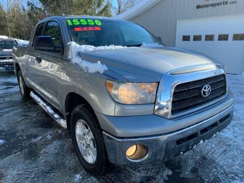 2008 Toyota Tundra for sale at SMS Motorsports LLC in Cortland NY