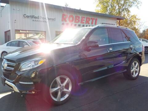 2016 Mercedes-Benz GLE for sale at Roberti Automotive in Kingston NY