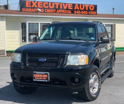 2004 Ford Explorer Sport Trac for sale at Executive Auto in Winchester VA