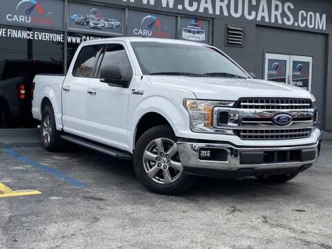 2018 Ford F-150 for sale at CARUCARS LLC in Miami FL