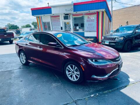 2015 Chrysler 200 for sale at Car Credit Stop 12 in Calumet City IL
