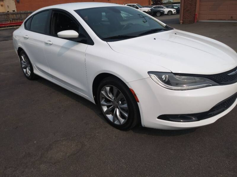2015 Chrysler 200 for sale at ENZO AUTO in Parma OH