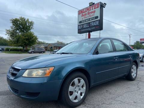 2006 Hyundai Sonata for sale at Unlimited Auto Group in West Chester OH