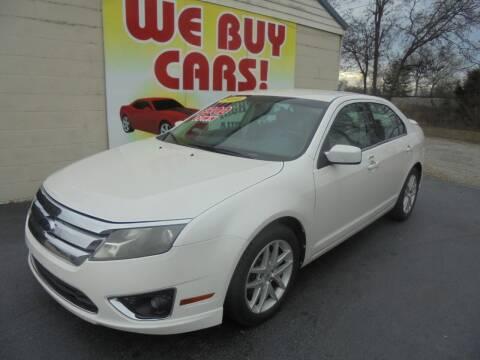 2010 Ford Fusion for sale at Right Price Auto Sales in Murfreesboro TN