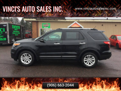 2013 Ford Explorer for sale at Vinci's Auto Sales Inc. in Bessemer MI