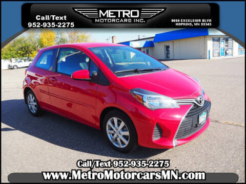 2015 Toyota Yaris for sale at Metro Motorcars Inc in Hopkins MN