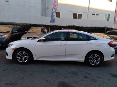 2018 Honda Civic for sale at Western Motors Inc in Los Angeles CA