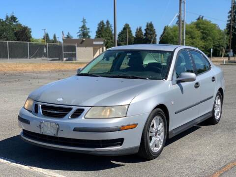 2005 Saab 9-3 for sale at Q Motors in Tacoma WA