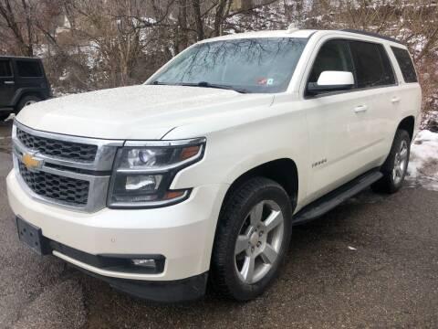 2015 Chevrolet Tahoe for sale at Matt Jones Preowned Auto in Wheeling WV