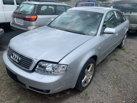2002 Audi A6 for sale at Trocci's Auto Sales in West Pittsburg PA
