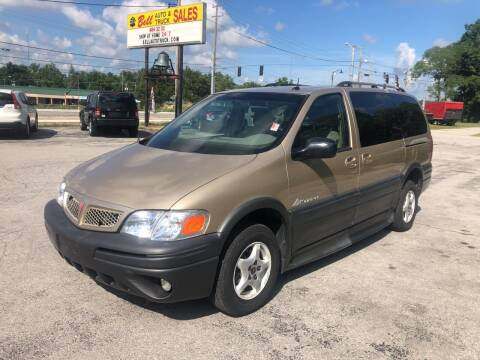 2005 Pontiac Montana for sale at BELL AUTO & TRUCK SALES in Fort Wayne IN