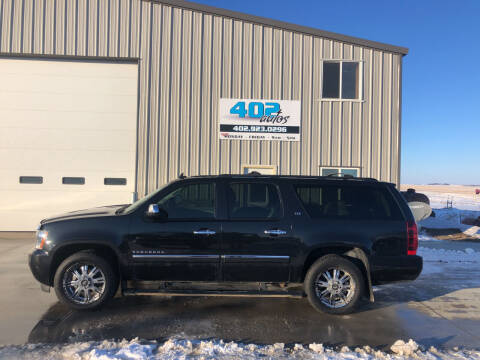 2013 Chevrolet Suburban for sale at 402 Autos in Lindsay NE
