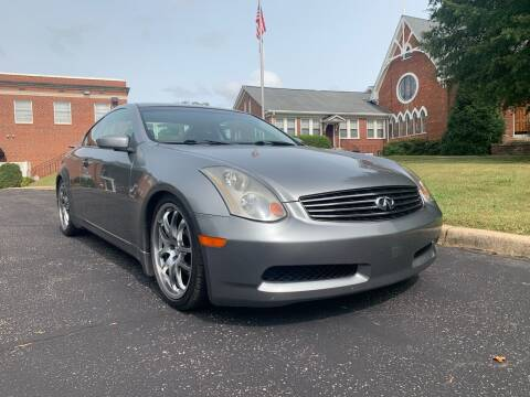 2005 Infiniti G35 for sale at Automax of Eden in Eden NC