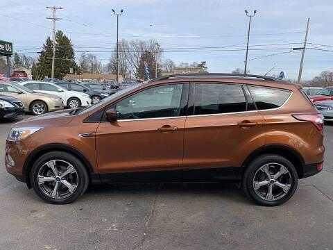 2017 Ford Escape for sale at Car Zone in Otsego MI