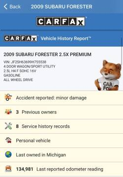 2009 Subaru Forester for sale at Auto Deals in Roselle IL