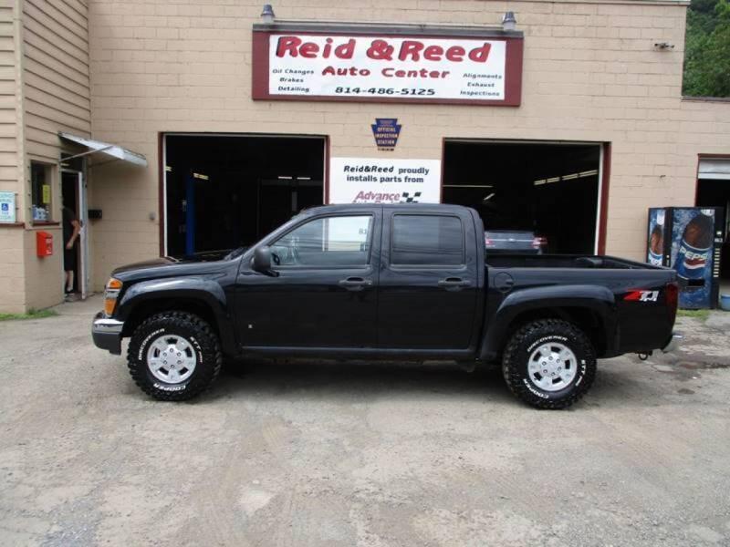 2006 Chevrolet Colorado for sale at Reid's Auto Sales & Service in Emporium PA