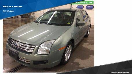 2009 Ford Fusion for sale at Walton's Motors in Gouverneur NY