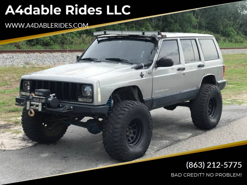 2000 Jeep Cherokee for sale at A4dable Rides LLC in Haines City FL
