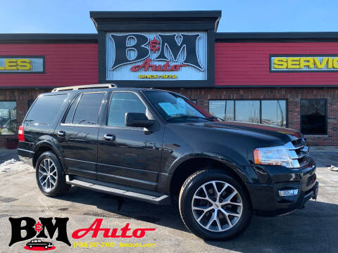 2015 Ford Expedition for sale at B & M Auto Sales Inc. in Oak Forest IL