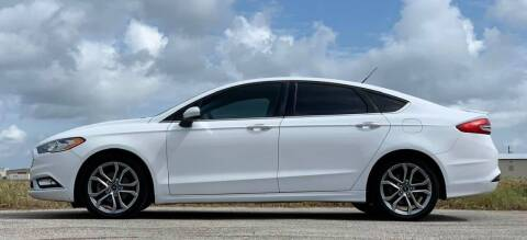 2017 Ford Fusion for sale at Palmer Auto Sales in Rosenberg TX