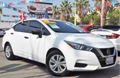2020 Nissan Versa for sale at AMC Auto Sales, Inc in San Jose CA