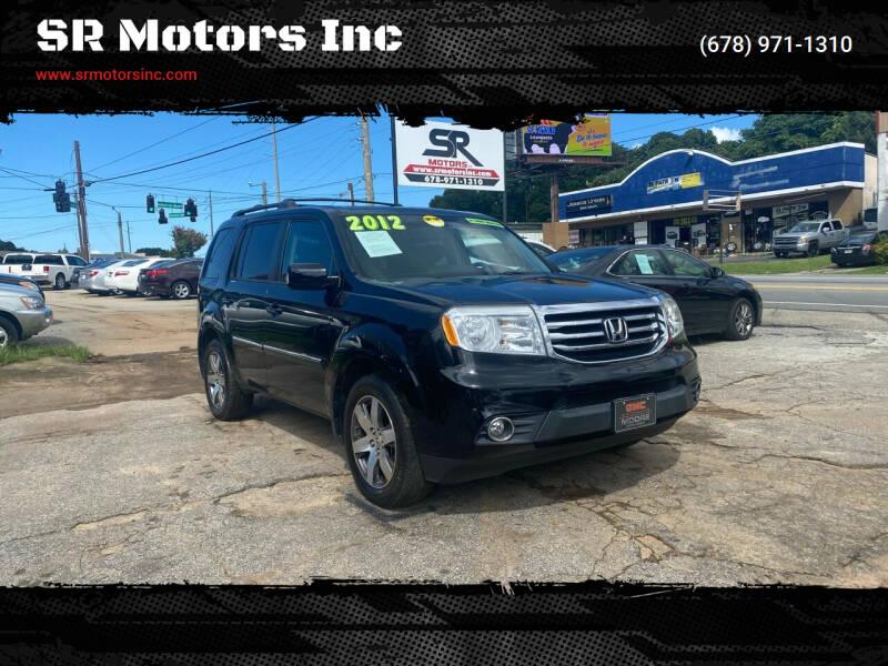 2012 Honda Pilot for sale at SR Motors Inc in Gainesville GA