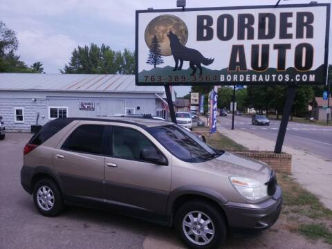 2005 Buick Rendezvous for sale at Border Auto of Princeton in Princeton MN