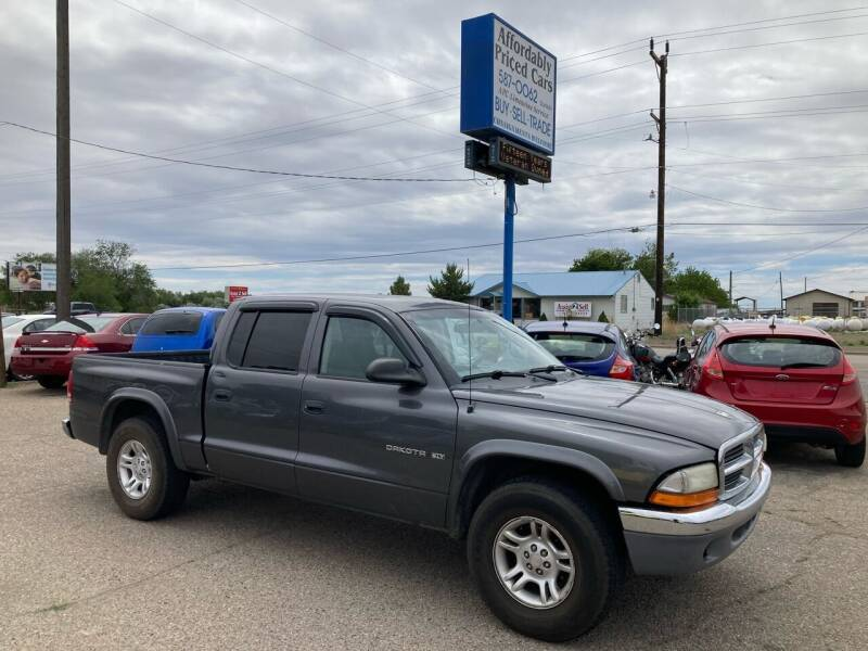 2002 Dodge Dakota for sale at AFFORDABLY PRICED CARS LLC in Mountain Home ID