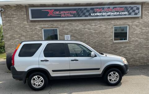 2003 Honda CR-V for sale at Xcelerator Auto LLC in Indiana PA