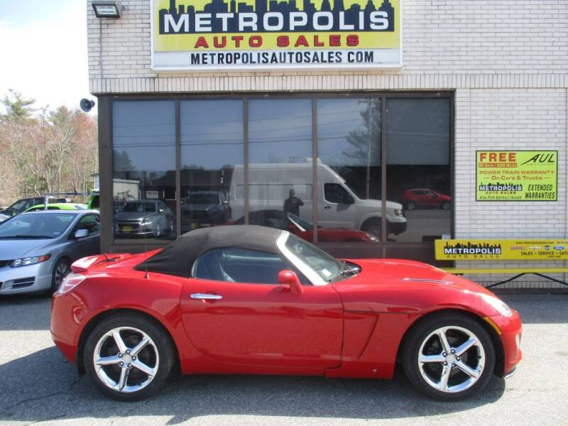 2007 Saturn SKY for sale at Metropolis Auto Sales in Pelham NH