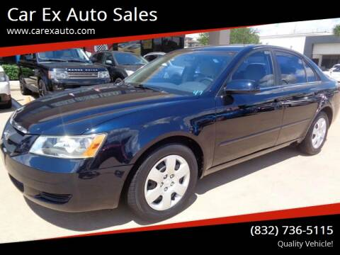 2007 Hyundai Sonata for sale at Car Ex Auto Sales in Houston TX