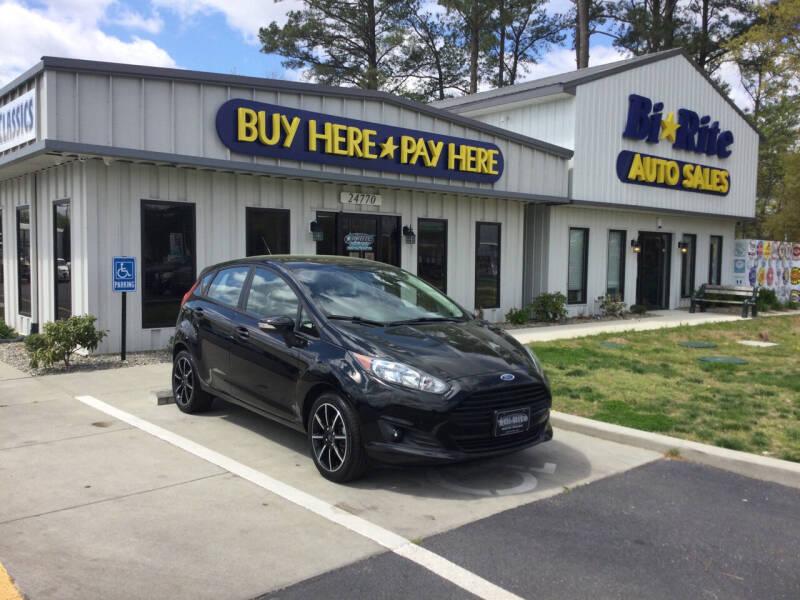 2016 Ford Fiesta for sale at Bi Rite Auto Sales in Seaford DE