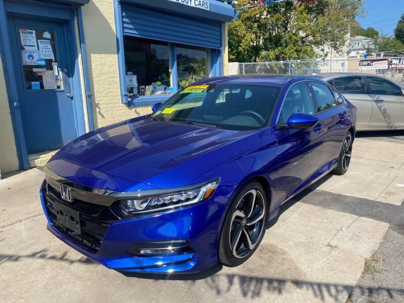 2019 Honda Accord for sale at Polonia Auto Sales and Service in Hyde Park MA